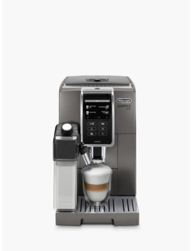 De'longhi Ecam370.95.T Dinamica Plus Bean To Cup Coffee Machine, Silver by De'longhi