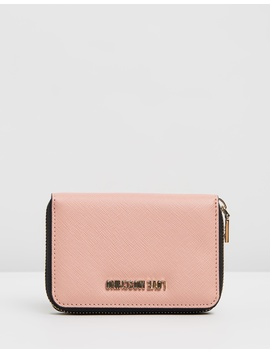 Matte Small Wallet by Love Moschino