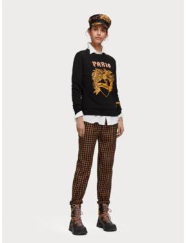 Sweater Met Artworkmix by Scotch&Soda