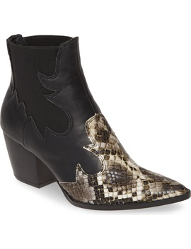 Defy Western Chelsea Bootie by Coconuts By Matisse