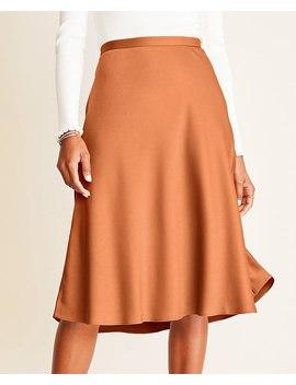 Satin Slip Skirt by Ann Taylor