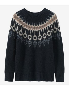 Alpaca Icelandic Yoke Sweater by Toast