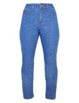 Mid Wash Basic Straight Leg Jean by Prettylittlething