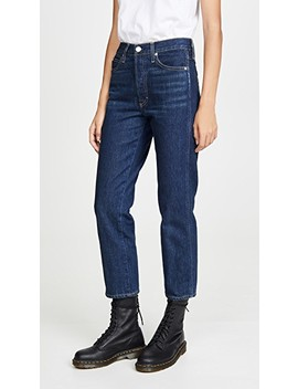 Loverboy High Rise Relaxed Straight Jeans by Amo
