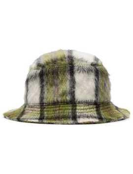 Check Pattern Bucket Hat by Natasha Zinko