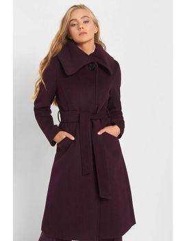 Vlněný Kabát S Opaskem by Orsay