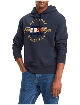 Icon Artwork Hoody by Tommy Hilfiger