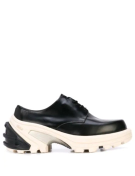 Chunky Two Tone Derby Shoes by 1017 Alyx 9 Sm
