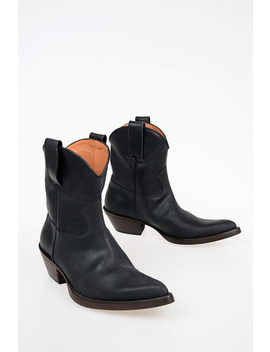 mm22-leather-santiag-boots by maison-margiela