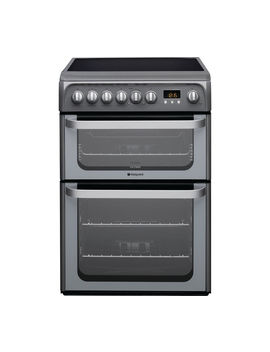 Ultima Hue61 Gs 60 Cm Electric Ceramic Cooker   Graphite by Currys