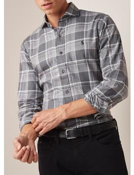 Slim Fit Overhemd Met Ruitdessin  by Polo Ralph Lauren