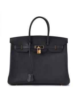 Hermes Epsom Birkin 35 Black by Hermes