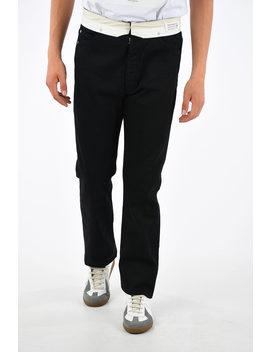 Mm10 21cm Stretch Denim Jeans by Maison Margiela