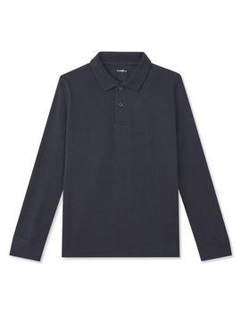 George Boys' Long Sleeve Uniform Polo by Walmart