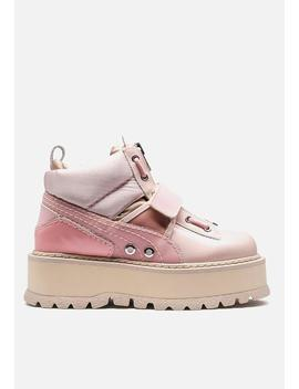Fenty Boot Strap   Silver Pink by Puma Select
