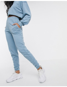 Missguided   Joggingbroek In Blauw Combi Set by Missguided