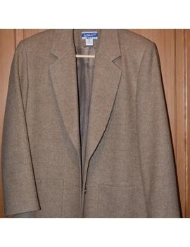 Vintage Pendelton Wool Camel Jacket/Blazer by Pendleton