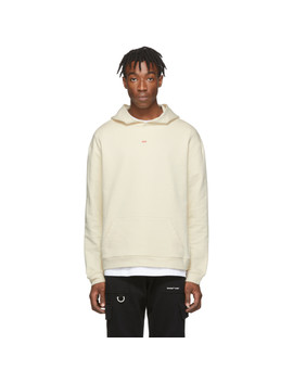 Ssense Exclusive Off White Layering Hoodie by 424