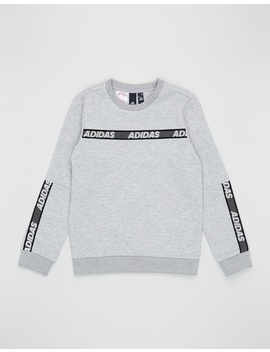 Sport Id Crew Sweatshirt   Kids Teens by Adidas Performance