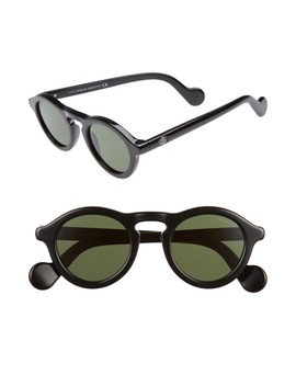 46mm Round Sunglasses by Moncler