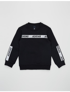 Sport Id Crew Sweatshirt   Kids Teens by Adidas Originals