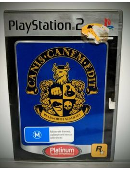Canis Canem Edit Aus Pal Complete Sony Playstation 2 Game Manual Disc Cib by Ebay Seller