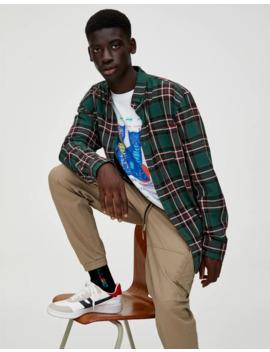 Basic Gekleurd Geruit Overhemd by Pull & Bear