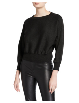 Maire Dolman Sleeve Cropped Pullover by Alice + Olivia