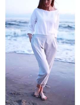 Bruno Linen Shirt, Linen Shirt Long Sleeve, Linen Shirt Woman, White Shirt, White Linen Blouse, White Linen Shirt by Etsy