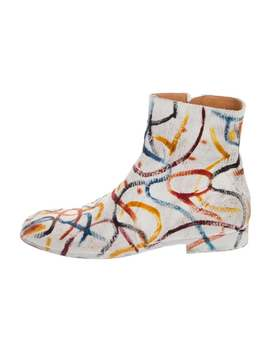 2016 Graphic Ankle Boots by Maison Margiela