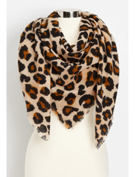 Leopard Blanket Scarf by Maurices