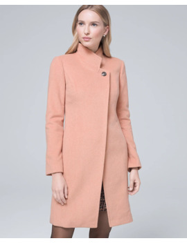 Stitch Detail Coat by Whbm