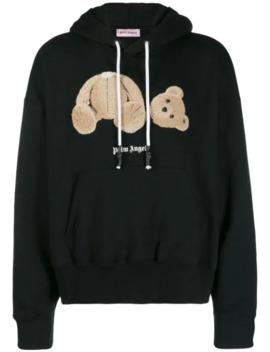 Teddy Bear Hooded Sweatshirt by Palm Angels