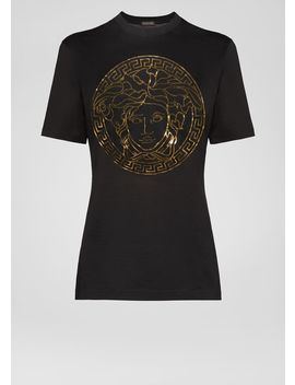 Medusa Loose Fit T Shirt by Versace