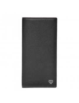 Mcm Calfskin Bifold Long Wallet Black by Mcm