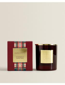 Bougie ParfumÉe Gingerbread (200G) Bougies   Produits   Parfums by Zara Home
