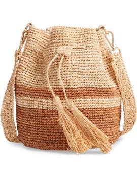 Tara Raffia Shoulder Bag by L Space