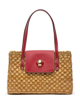 Woven Shoulder Bag by Frances Valentine