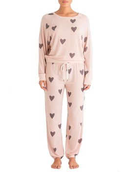 Star Seeker Brushed Jersey Pajamas by Honeydew Intimates