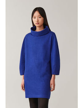 Wool Cotton Cocoon Dress by Cos