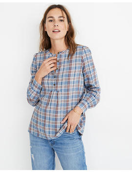 Leysfield Popover Shirt In Plaid by Madewell