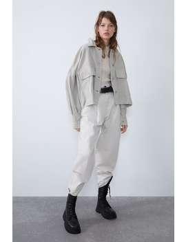 Oversized Corduroy Jacket by Zara