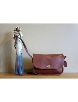 Coach City Bag In Britischen Tan Leder Mit Verstellbaren Riemen & Messing Hardware Stil 9790  Made In United States   Vgc by Etsy
