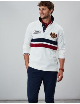30th Anniversary Rugby Shirt by Joules
