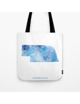 Nebraska Tote Bag by Society6