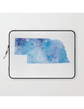 Nebraska Laptop Sleeve by Society6