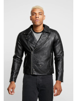 Biker   Giacca In Similpelle by Topman