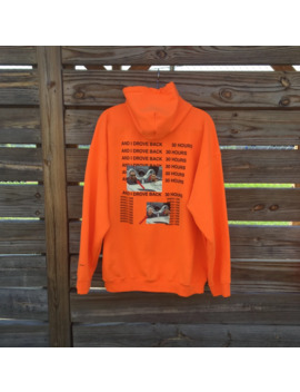 30 Hours Life Of Pablo Curb Your Enthusiasm Hooded M by Kanye West  ×