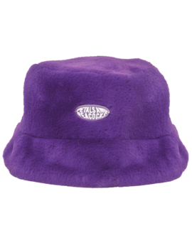 Virtual Insanity Bucket Hat In Purple by Petals And Peacocks