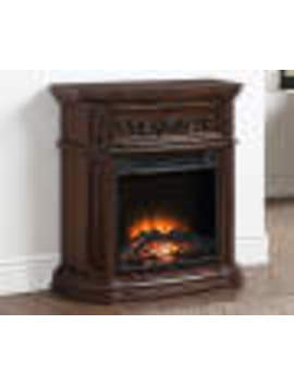 "28"" Cherry Petite Foyer Fireplace by 28"" Cherry Petite Foyer Fireplace"
